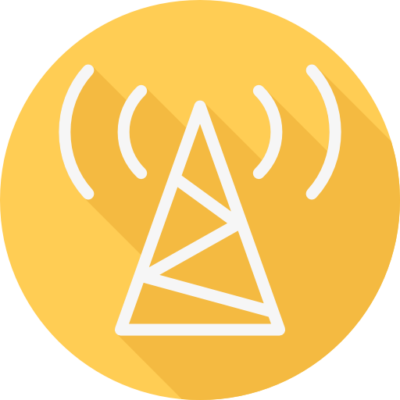 Electric Tower Icon - Broadband Dynamics